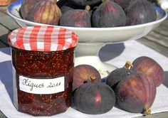 Confiture de figues au citron
