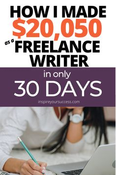 After attempting nearly a dozen online business models since I know that freelance writing is the easiest way to start making consistent money online- in this post I show you exactly how I make money freelance writing. Make Money Writing, Make Money Blogging, Writing Tips, Make Money Online, Improve Writing, Writing Courses, Work From Home Jobs, Make Money From Home, Way To Make Money