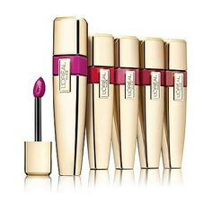 L\'Oreal Paris Colour Caresse Wet Shine Stain - JUST LIKE YSL Lip Stain - L'Oreal owns YSL beauty