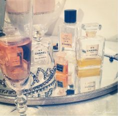 Chic Peek: My Birthday Photo Diary - Lauren Conrad Old Picture Frames, Circular Mirror, Photo Diary, Birthday Photos, Smell Good, Girly Things, Perfume Bottles, Perfume Tray, My Favorite Things