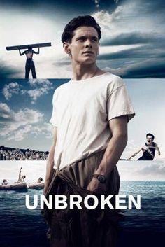 Unbroken Movie Poster Standup 4inx6in