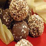 Chocolate Peanut Butter Truffles--ah-mazing combination!