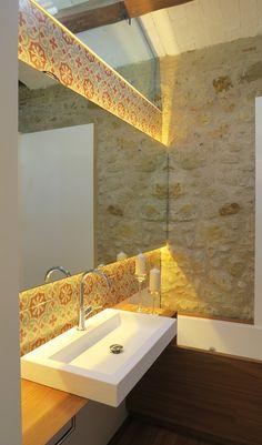 Reforma cuartos de baño, baños de diseño, rural, moderno, baños segunda residencia, Tono Bagno Barcelona, Cases singulars Emporda, Pals (7)