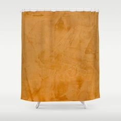 Orange Home Decor Accessories by Corbin Henry for @Society6. Orange Shower Curtain. Customize your bathroom decor with unique shower curtains designed by artists around the world. Made from 100% polyester our designer shower curtains are printed in the USA and feature a 12 button-hole top for simple hanging. The easy care material allows for machine wash and dry maintenance. Curtain rod, shower curtain liner and hooks not included. Dimensions are 71in. by 74in.