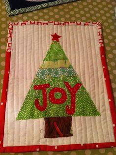 Joy Mug Rug | Flickr - Photo Sharing!