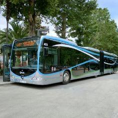 Ônibus Mercedes-Benz entram em operação no sistema BRT de Granada | VeloxTV