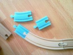 3D Printable Brio Tracks, designed by Moli.