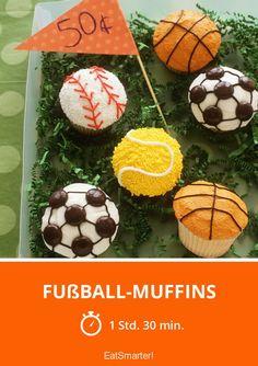Fußball-Muffins - smarter - Zeit: 1 Std. 30 Min. | eatsmarter.de