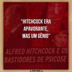 Livro : Alfred Hitchcock e os bastidores de Psicose   O livro que deu origem ao filme Hitchcock   Autor: Stephen Rebello   Ano: 2013   ...