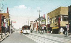 Heijo (Pyongyang) Daehwajung 평양 대화정 거리, circa 1920's