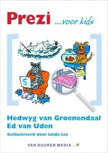 Prezi voor kids - Hedwyg van Groenendaal en Ed van Uden hebben samen dit boek geschreven. Dit boek gaat jou heel veel leren over Prezi. Prezi is een coole site voor op je computer waarmee je de mooiste presentaties kunt maken. Met dit boek bij de hand presenteer jij straks de mooiste prezi's van de wereld. http://www.prezivoorkids.nl/downloads/20140122-update-prezivoorkids.pdf