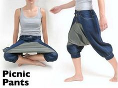 Picnic Pants... what more do you need?!
