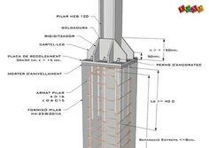 landStructure and Buildingcivil engineer Architect designer Construction art pic design Construction a Steel Trusses, Steel Columns, Roof Trusses, Steel Structure Buildings, Concrete Structure, Steel Frame House, Steel House, Concrete Sheds, Roof Truss Design