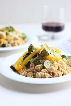 Creamy Pasta With Roasted Vegetables | A Cup of Jo