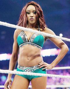 WWE Diva Alicia Fox