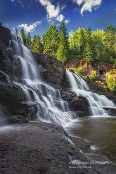 Gooseberry Falls Waterfall Photography by SoulCenteredPhotoart