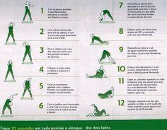 Dicas de exercícios para fazer em casa.