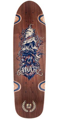 Landyachtz Dinghy Sea Captain Longboard Deck - 2015