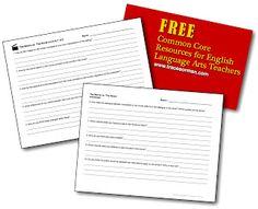 Common Core Reading Resources