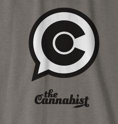 The Cannabist Colorado Blurb C logo design close up