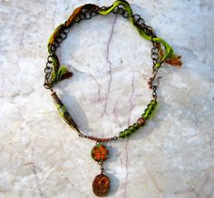 forest dweller necklace by marthasrubyacorn on Etsy, $78.00