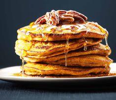 Gluten Free Quinoa Pumpkin Pancakes
