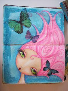 www.meganscreativebliss.blogspot.com www.facebook.com/meganksuarezfineart Face Collage, Collage Art, Painting Pictures, Pictures To Paint, Art Faces, Face Art, Travel Journals, Art Journals, Artwork Ideas
