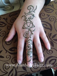 Celtic Themed Henna by Victoria Welch