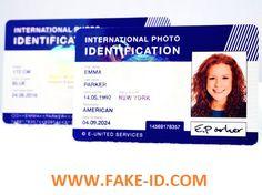 how to make fake id card