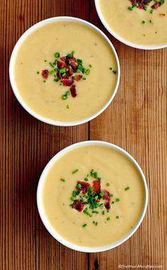 Beer Cheese Soup Recipe shewearsmanyhats.com