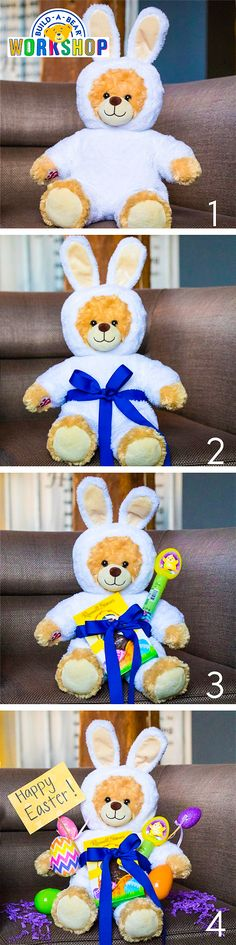 f29d9ca48 Looking for the perfect Easter morning surprise? Follow these steps to make  an Easter basket out of your favorite furry friend!