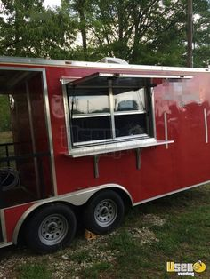 New Listing: https://www.usedvending.com/i/2016-7.5-x-20-Food-Concession-Trailer-with-Porch-for-Sale-in-Texas-/TX-P-885X 2016 - 7.5' x 20' Food Concession Trailer with Porch for Sale in Texas!!!