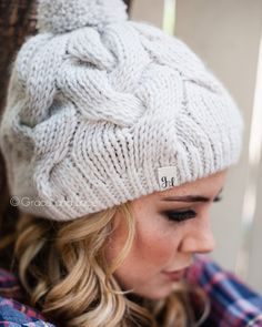 Cozy Cable Knit Hat  soft warm and stylish. everything you want in a cold 572503f36f2