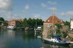 De haven van Brielle
