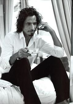 """Chris Cornell. I just called to say """"I Love You!"""""""