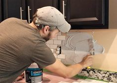 Installing A Subway Tile Backsplash For $200