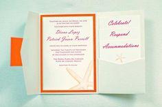 Mexico beach wedding invitation