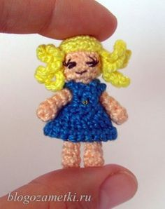 how to: crocheted micro doll
