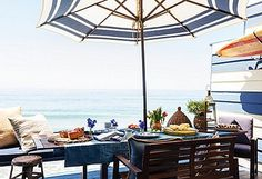 The Secrets to Hosting a Chic and Easy Summer Party! Outdoor Dining, Outdoor Spaces, Outdoor Decor, Fresco, Gypsy, Patina Farm, Tropical, Lounge, Love Home