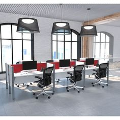 Shop for Bestar Pro-Biz Six workstation in White with TackBoards. Get free delivery at Overstock.com - Your Online Office Furniture Store! Get 5% in rewards with Club O!