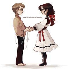 Jack and Elizabeth~Bioshock Series