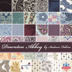 Downton Abbey collection by Andover Fabrics