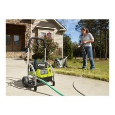 Ryobi 1700-PSI 1.2-GPM Electric Pressure Washer-RY14122 at The Home Depot