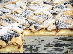 Múku, zmäknutý tuk, práškový cukor a vanilínový cukor zmiešame, pridáme vajíčko, mlieko a rum. Vypra... Czech Recipes, Ethnic Recipes, Nutella, Sweet Tooth, French Toast, Deserts, Goodies, Dessert Recipes, Food And Drink