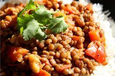 Masala Lentils (Sabut Masoor) [Vegan, Gluten-Free] | One Green Planet