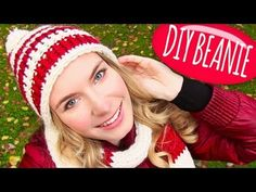 ▶ Knit a Hat! DIY Beanie Hat with Pom Pom + DIY Knitting Loom! Easy for Knitting or Crochet Beginners - YouTube