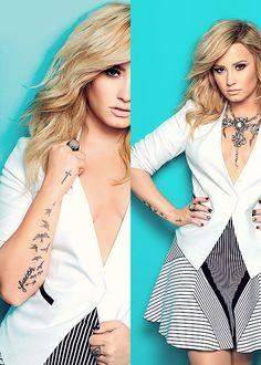 Demi Lovato photoshoot for Cosmopolitan