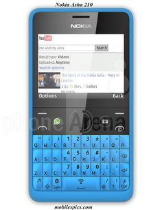 Nokia Asha 210 Mobile Phone Model features details & Price features, Asha Mobiles Series for you and your friends, Dual SIM Mobiles & Dual Core Models by Nokia Company.