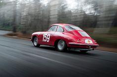 Deze Porsche T6B 356 Carrera 2GT wordt in Engeland te koop aangeboden door Fiskens. Chassisnummer 125107 werd op 25 juni 1963 gebouwd door Reutter en