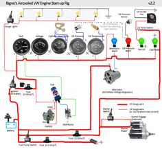 super beetle wiring diagram super beetle fuse wiring vw engine test stand google search